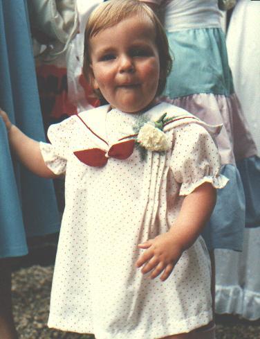 Sandra in het klein