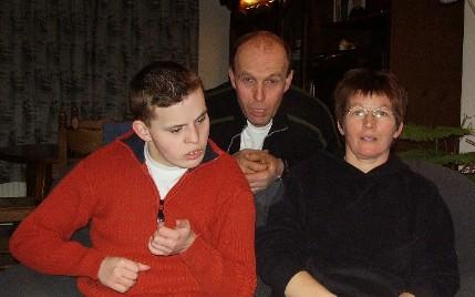Rudie, Wim en Jantiena Enderink
